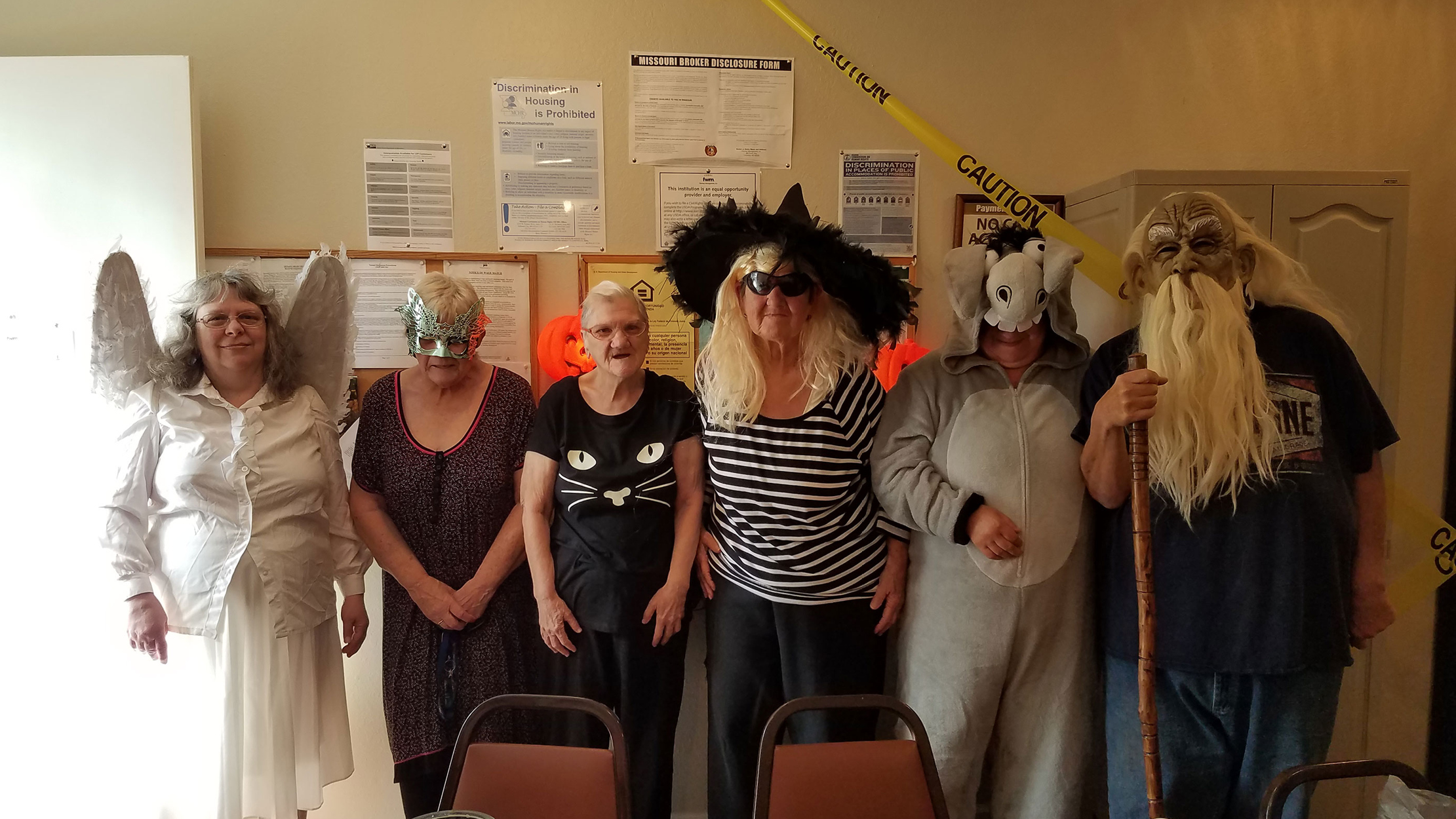Ironton Estates, A Fairway Management Senior Community Located In Ironton, Missouri, Recently Hosted Their Annual Halloween Party & Contest At The End Of October.